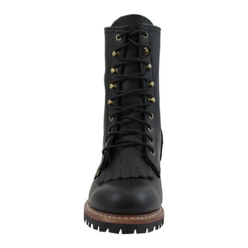 Men's AdTec 1964 Fireman Logger Boots 10in Black