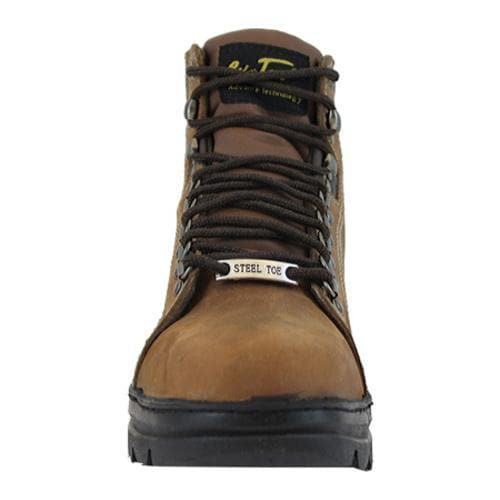 Men's AdTec 1977 Hiker Boots 6in Steel Toe Brown