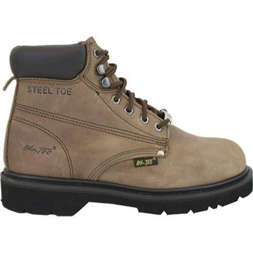 Men's AdTec 1981 Work Boots 6in Steel Toe Brown