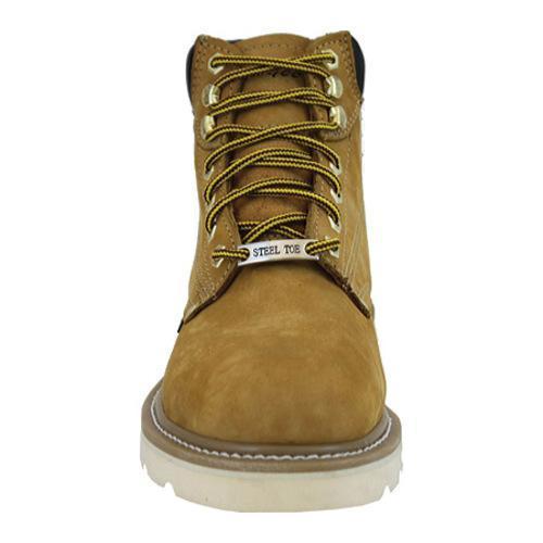 Men's AdTec 1982 Work Boots 6in Steel Toe Tan