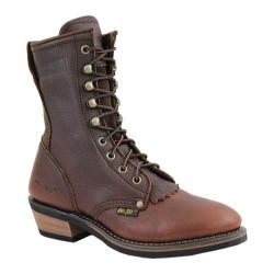 Women's AdTec 2173 Packer Boots 8in Brown
