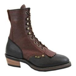 Women's AdTec 2179 Packer Boots 8in Black/Dark Cherry