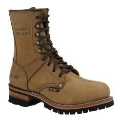 Women's AdTec 2427 Logger Boots 9in Brown