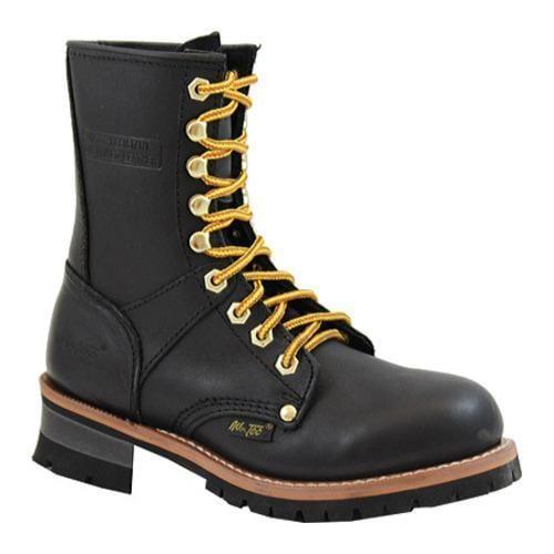 Women's AdTec 2439 Logger Boots 9in Black