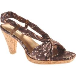 Women's Anne Klein Equity Brown/Fark Bronze Fabric