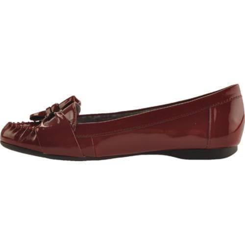 Women's Anne Klein Kismet Dark Red Lizard Print