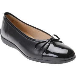 Women's Ara 43716 Black Lamb Nappa/Patent