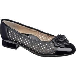 Women's Ara Blossom 33726 Black Leather/Patent