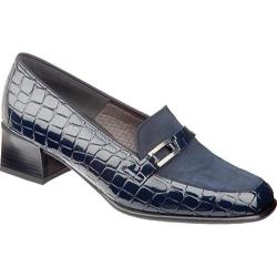 Women's Ara Lady 42077 Navy Croco/Suede