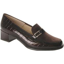 Women's Ara Lyon 42077 Brown Faux Croco/Suede
