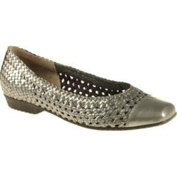 Women's Ara Meredith 33736 Metallic Platinum Woven
