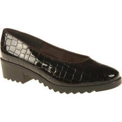 Women's Ara Miley 45057 Brown Faux Croco Patent