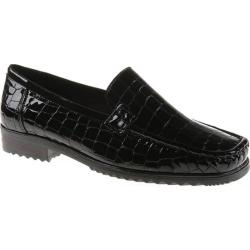 Women's Ara Portland 40017 Black Faux Croco