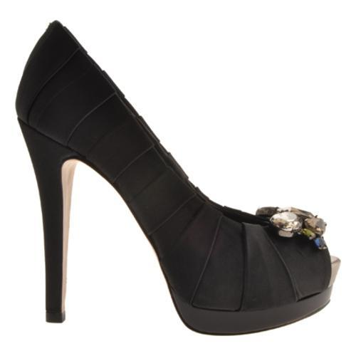 Women's BCBG Max Azria Lauryn Black Satin