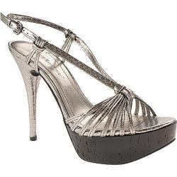 Women's BCBGeneration Santos Pewter/Black Metallic/Cork