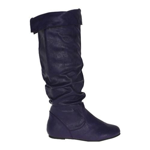 Women's Beston Cookie-1B Purple PU
