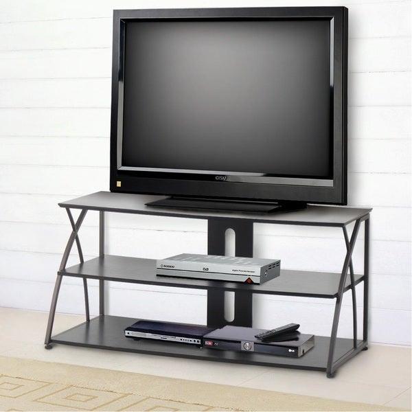 Benton Espresso Satin Wood TV Console