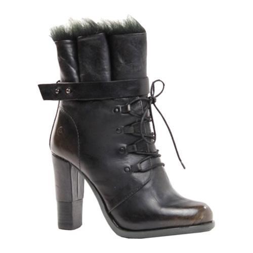 Women's Bronx Cast Away Black Leather