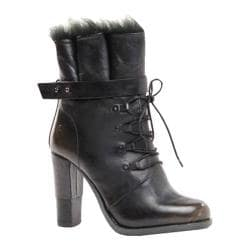 Women's Bronx Cast Away Black Leather