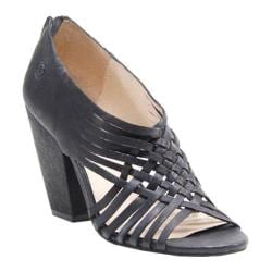 Women's Bronx Dandy Line Black Leather