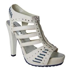 Women's Bruno Menegatti 1534309 Off White/Navy