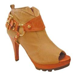 Women's Bruno Menegatti 1675704 Tan/Brick