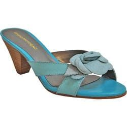 Women's Bruno Menegatti 39619 Aqua/Sunflower