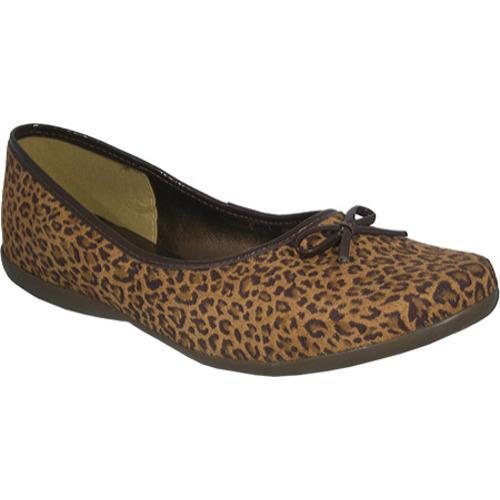 Women's Bruno Menegatti 81529 Leopard Brown