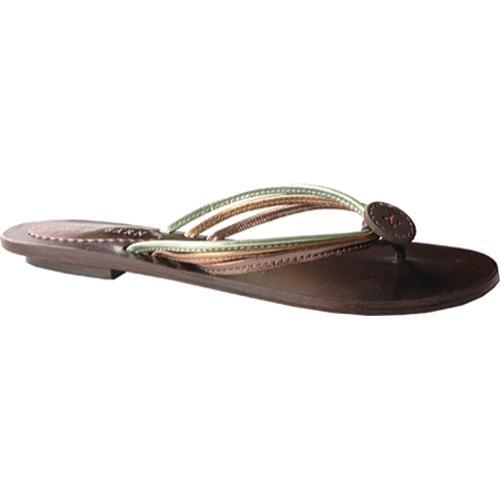 Women's Casual Barn CBS0016 Spring Green Leather