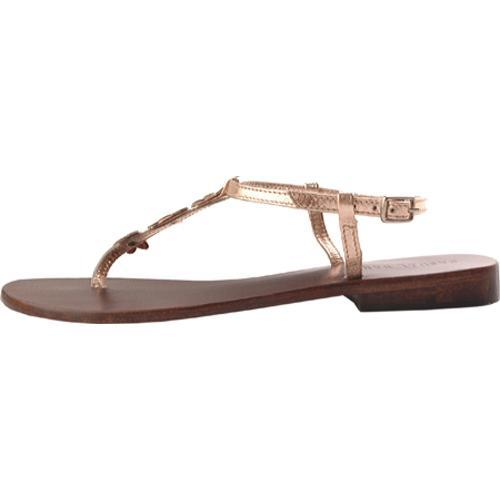 Women's Casual Barn CBS0039 Metallic Champagne Leather