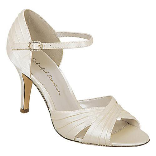 Women's Colorful Creations Brooke Ivory Satin