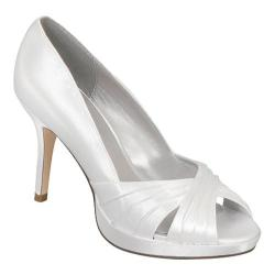Women's Colorful Creations Celine White Satin