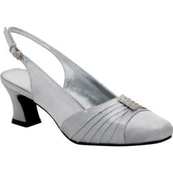 Women's Colorful Creations Rita Silver Satin