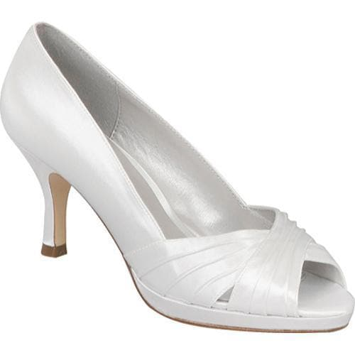 Women's Colorful Creations Victoria White Satin