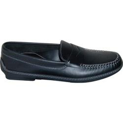 Men's David Spencer Key West Black Waxy Leather