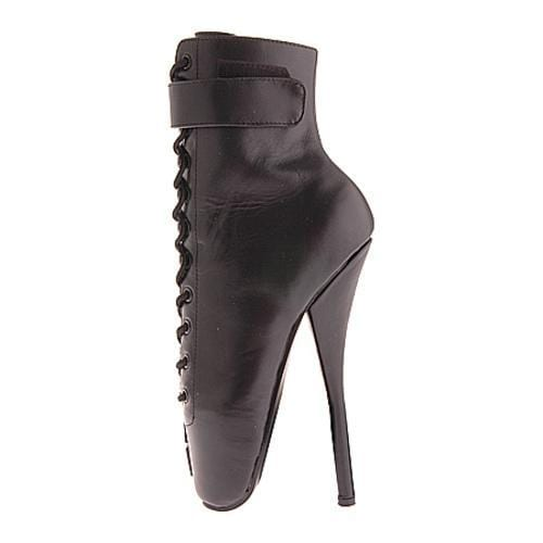 Women's Devious Ballet-1025 Black Leather