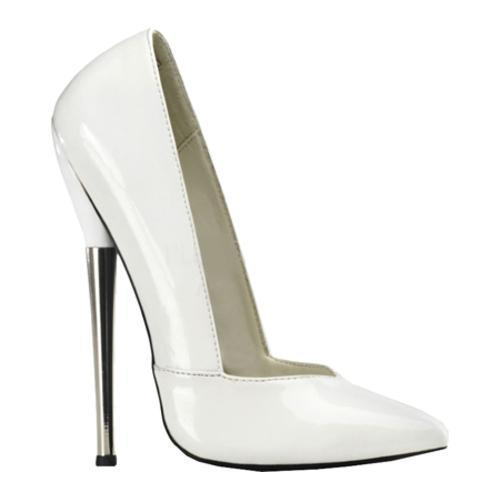 Women's Devious Dagger 03 White Patent