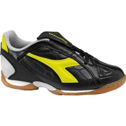Children's Diadora DD-Eleven ID Jr Black/Yellow/Fluorescent