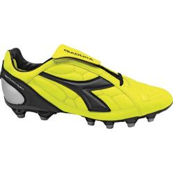 Men's Diadora DD-Eleven LT MG 14 Yellow Fluorescent/Black