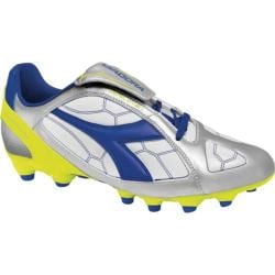 Men's Diadora DD-Eleven R MG 14 Silver/Royal/White