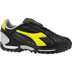 Children's Diadora DD-Eleven TF JR Black/Yellow Fluorescent