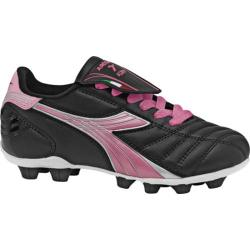 Children's Diadora Forza MD JR Black/Pink