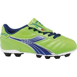 Children's Diadora Forza MD JR Lime Green/Dark Royal