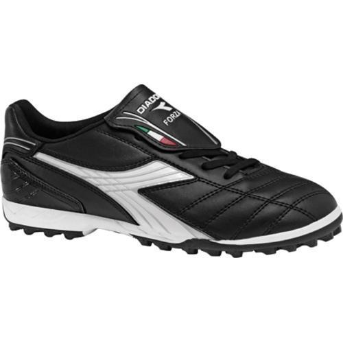 Men's Diadora Forza TF Black/White/Silver