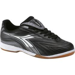 Children's Diadora Furia ID JR Black/White/Silver