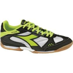 Men's Diadora Quinto ID Black/Yellow Fluorescent