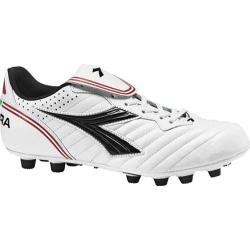 Men's Diadora Scudetto LT MD PU White/Black