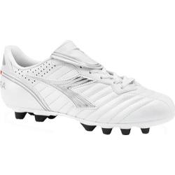 Women's Diadora Scudetto LT MD PU White/Silver/Black