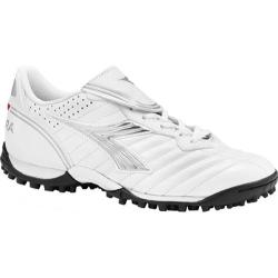 Women's Diadora Scudetto LT TF White/Silver/Black