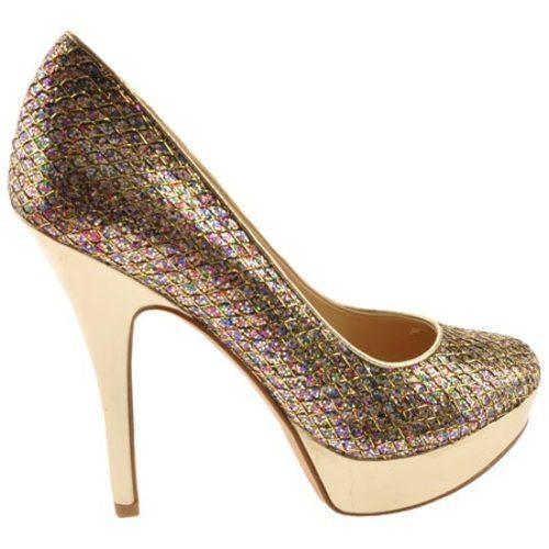 Women's Enzo Angiolini Smiles Gold Multi Fabric